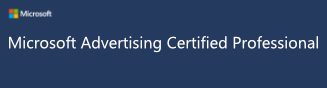 Bing & Yahoo Ads Zertifiziert